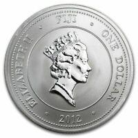 2012 New Zealand Mint $1 Fiji Taku 1/2 oz .999 Silver Coin