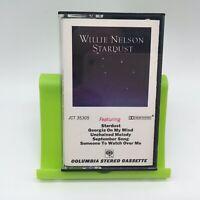 Willie Nelson Stardust Cassette Tape JCT 35305 Very Good
