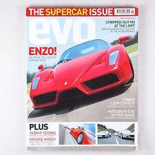 EVO magazine 047 September 2002 Ferrari Enzo, BMW M3 3.0 CSL, Miura