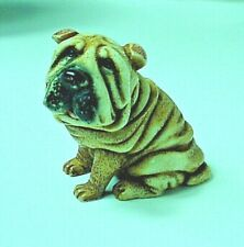 "New ListingHarmony Kingdom 2007 Pot Bellys ""Wrinkley"" Dog-Very Good Condition"