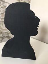 Freddie Mercury Wooden Head Silhouette