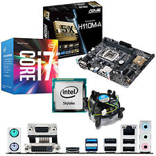 INTEL Core i7 6700 3.4Ghz & ASUS H110M-A - Motherboard & CPU Bundle
