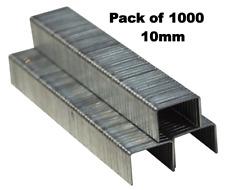 1000pc 10mm Staples Staple Gun Tacker Pack of 1000 Upholstery B3751