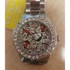 Invicta 22872 Women's Disney Limited Edition Crystal SS Watch With 3 Slot Case