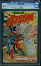 Showcase 36 CGC 4.5 Silver Age Key DC Comic 3rd appearance of the Atom L@@K