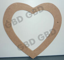 MDF Love Hearts Decorative Plaques & Signs