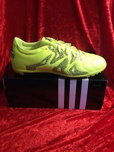 adidas Herren Fussballschuhe X 15.3 TF(B33004) Kunstrasen Leder Schuhe neu in Ka