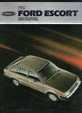1982 FORD ESCORT DEALER SALES BROCHURE-BOOKLET-24 PAGES