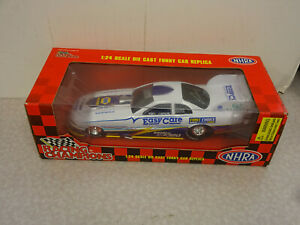 Racing Champions 1:24 Jim Epler NAPA/Easy Care Funny Car Dragster Autographed