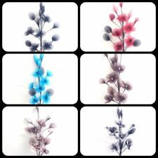 Flores secas y artificiales decorativas arreglos florales para el hogar