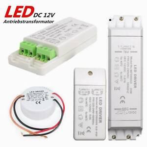 LED Trafo Treiber Transformator Driver DC 12V 6W 12W 60W Für G4 MR16 MR11 Lampe