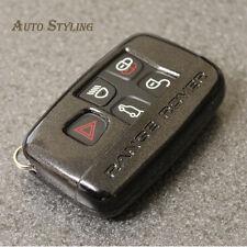 Black Key Cover Case for Range Rover Smart Remote Fob 5 Button Hull Vogue 45dbla
