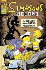 SIMPSONS COMICS # 105 + POSTER - PANINI COMICS 2005 - TOP