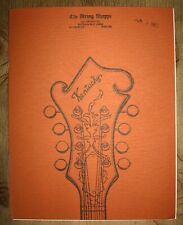 Kentucky mandolins catalog