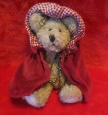 "Boyds Bears Colleen O'Bruin 7"" Little Red Riding Hood Cape Fully Jointed NO TAG"