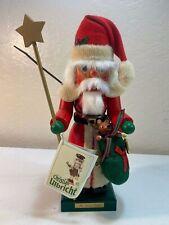 "Christian Ulbricht Mr. Claus Limited Edition Christmas 15"" Nutcracker 0-214 NIB"