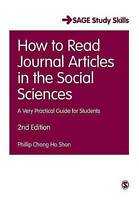 How to Read Journal Articles in the Social Sciences: A Very Practical Guide for
