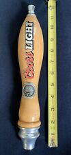 COORS LIGHT BEER TAP HANDLE Rare Used Man Cave Bar