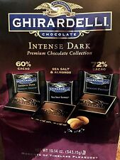 Ghirardelli Intense Dark Evening Dream, Sea Salt Soiree, Twilight Delight -19 Oz