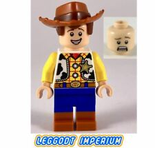 LEGO Minifigures - Woody two expressions - Toy Story 4 Disney toy025 FREE POST