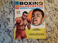 May 1965: Boxing Illustrated Wrestling News magazine Liston Ali Clay Patterson