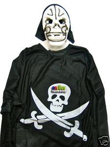Halloween Skeleton Boys Costume Medium Sz 5 - 7 Wholesale X 10 Sets