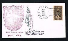 Ulysses Simpson Grant Sharp Jr. (d. 2001) signed autograph Postal Cover Pacific