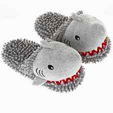 Aroma Home Fuzzy amigos divertidos Edición Limitada Zapatillas Gris Shark 3D Novedad
