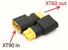 Lithium Polymer 22.2v 6600mah 6 S Cell 10c Lipo Battery Pack Xt90 Quadcopter UK Female Deans Connector Adaptor