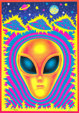 Poster:Science Fiction: Blacklight: Alien by M. Collier - Free Ship #Bl10 Rc23 K
