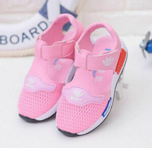 Boys Girls Kid Casual Closed Toe Shoes Baby Infant Outdoor Sport Sandals US 6-12