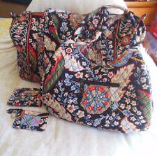 Vera Bradley 4 Piece Travel set in Versailles Pattern Retired