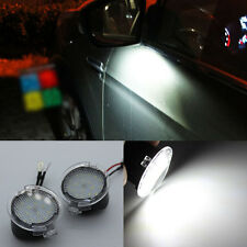 2x High power white LED Side Mirror Puddle Lights For Ford 2009-2014 F150 RAPTOR