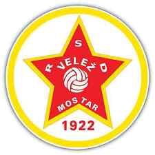 "FK Velez Velež Mostar FC Bosnia Football Soccer Car Bumper Sticker Decal 5""X5"""