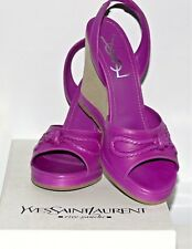 NWT $700.00 YSL YVES SAINT LAUREN MADE IN SPAIN   SZ - 37/ US - 6,5