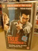 True Romance (Alt) VHS Video Retro