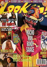 Look-In Magazine 9 January 1993      Macho Man Randy Savage     Melissa Bell