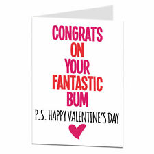 Funny Valentines Card For Her Wife Girlfriend Cheeky Naughty Design
