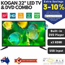 """Kogan 32"""" LED TV & DVD Combo 2 in 1 Built-in DVD Player USB HDMI HD Video Player"""
