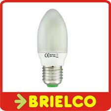 LAMPARA BOMBILLA BAJO CONSUMO FLUORESCENTE TIPO VELA LUZ DIA E27 11W 220V BD4074