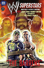 WWE SUPERSTARS #3 SUPER GENIUS 1ST PRINT JOHN CENA RANDY ORTON THE WYATT FAMILY