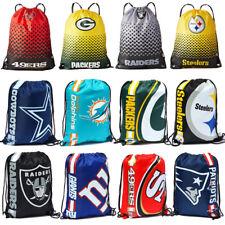 NFL Gym Bag Sportbeutel Trend American Football Fan Foil Print Fade Beutel neu