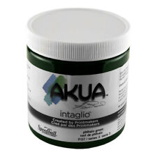Akua Intaglio Ink 8 Oz Phthalo Green