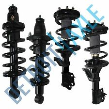 (4pc) Front & Rear Strut Coil Spring 2002 2003 2004 2005 2006 Honda Crv(Fits: Honda)