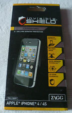 ZAGG invisibleSHIELD for IPHONE 4 - FULL BODY  (1st class p+p)