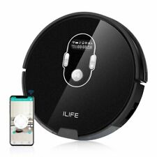 ILIFE A7 Robotic Vacuum Cleaner with High Suction, LCD Display, Multi-Task WiFi
