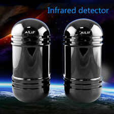 Alarm Dual Beam Photoelectric Infrared Detector 100M Home & Garden Security US