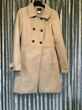 Women's La Redoute Pink Coat Button Up Size 8