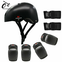 Helmet Knee Elbow Wrist Guards Pads Skating Protective Gear Cycling Bike Scooter