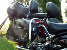 Yamaha V-star XVS 650 Custom & Classic Rear Crash Bars Guards Saddle Protectors